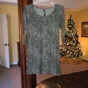 Jessica Simpson Animal Print Dress